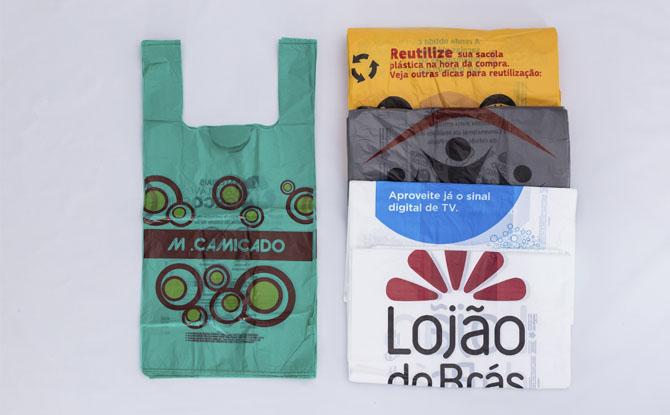 SACOLAS PLÁSTICAS IMPRESSAS: serviço de impressão em sacolas plásticas